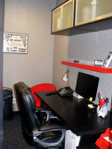 The business office